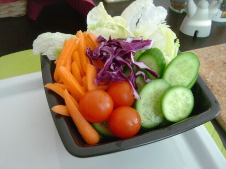 Green Salad without Dressing