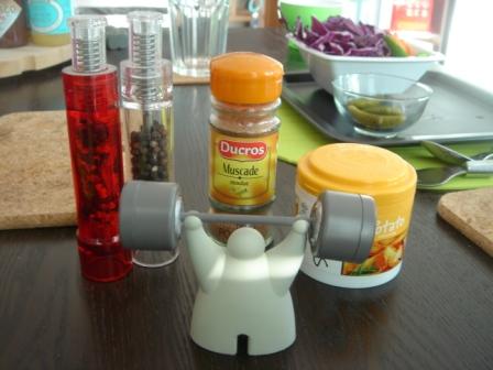 Salt, Pepper, Nutmeg, & Paprika
