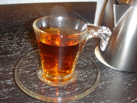 My Tea :D in the Modern Istekana :D