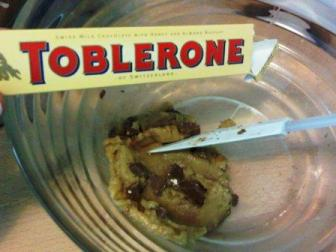 Fourth Flavor: Toblerone!