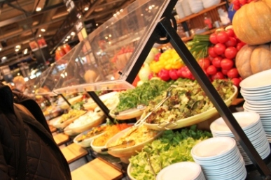 The Salad Station...