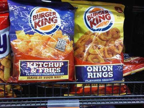 Burger King Onion Rings Gas